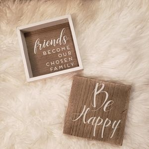 Wood Sign Bundle